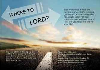 Where to Lord?